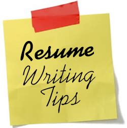 How to write a cv or resume
